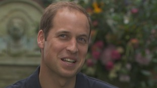 The Duke of Cambridge said he, his wife and Prince Harry have grown up 'differently to other generations.'