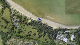 The boys were last seen near Appley Tower, on a popular beach near Ryde on the Isle of Wight.