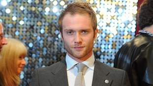 Chris Fountain arriving for the 2013 British Soap Awards in May.