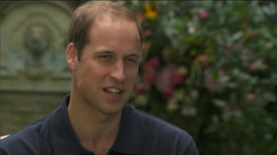 Prince William speaking to CNN.