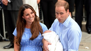"The royal couple were ""were happy to show him off to whoever wanted to see him""."