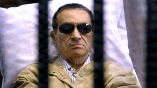 Egypt's longstanding leader Hosni Mubarak has been in custody since his overthrow in 2011