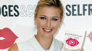 Maria Sharapova's line of sweets is Sugarpova.