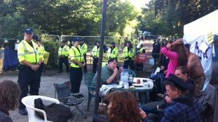 police at Balcombe