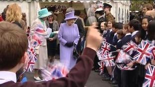 Queen in Yeovil