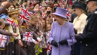 Queen and Brownies in Yeovil