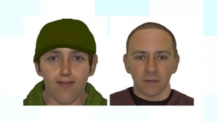 Artist impression - do you recognise these men?