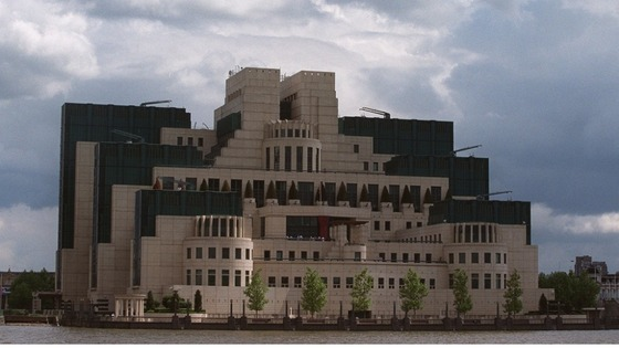 MI6 headquarters in London. 