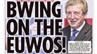 Front page of the Sun