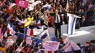 Hollande, France's Socialist party candidate for the 2012 French presidential election