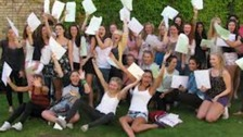 Students celebrate their GCSE results