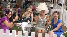 Ladies Day at the Ebor Festival