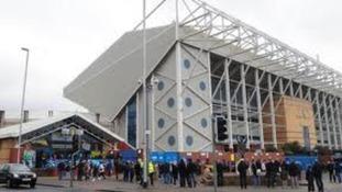 Elland Road , the home of Leeds United