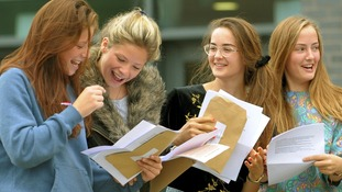 GCSE results: Record fall in A*-C grades