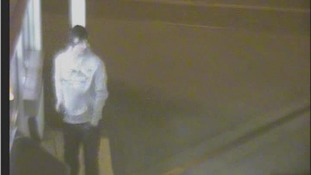 CCTV 2: Bedfordshire Police want to speak to this man in connection with an arson attack in Leighton Buzzard