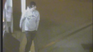 CCTV 3: Bedfordshire Police want to speak to this man in connection with an arson attack in Leighton Buzzard