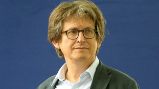 Guardian editor Alan Rusbridger at the Edinburgh International Book Festival.
