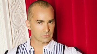 Louis Spence, who rose to fame in the docusoap Pineapple Dance Studios, was first to enter the house.