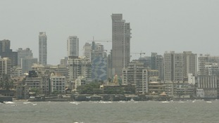 Generic shot of the Indian city of Mumbai.