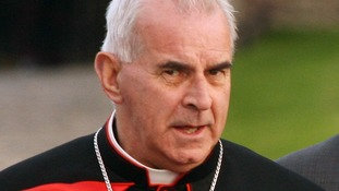 File photo of Cardinal Keith O'Brien.