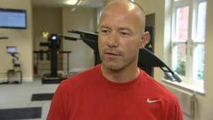 Alan Shearer speaks to ITV News Tyne Tees.