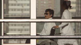 Chen Guangcheng in hospital in Bejing