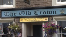 The Old Crown pub, Hesket Newmarket