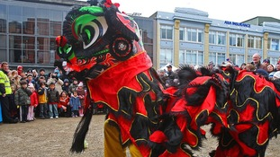 Traditional Chinese dragon dancing will form part of the entertainment at Leicester's City Festival