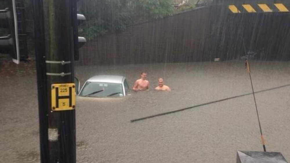 Flooding Causes Chaos In Essex Itv News