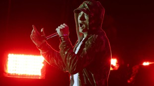 Eminem headlines the stage
