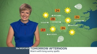 Helen has Sunday's forecast