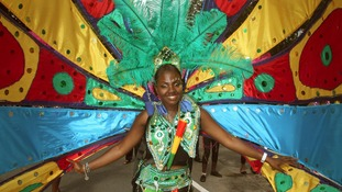 Dancer at Carnival.