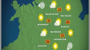 By the afternoon, there will be lots of hazy sun