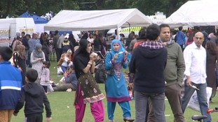 Cannon Hill Park in Birmingham was filled with family activities for Eid Mela