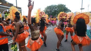 Entertainers at Carnival