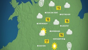 Tuesday morning's weather