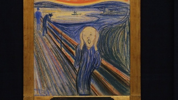The scream sells for 120m itv news for What is the most expensive painting