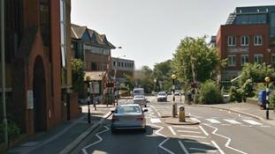 Redhill town centre.
