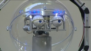 Linda the robot at the University of Lincoln
