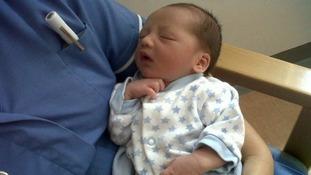 Baby Joseph was found on a doorstep.