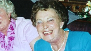 Sandra Aston died in hospital in Worcestershire.