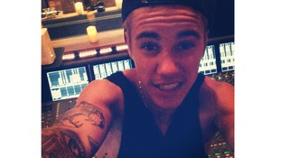 Justin Bieber is well known for posting 'selfies'.