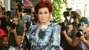 Sharon Osbourne arrives at the X Factor launch.