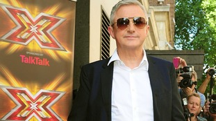 Louis Walsh arrives at the X Factor.