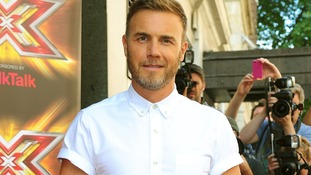 Gary Barlow arrives at the X Factor launch.