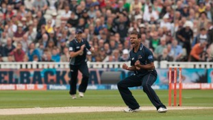 Azharullah helped Northamptonshire Steelbacks secure the Friends Life t20 title