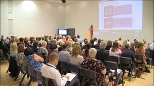 A conference is taking place in Northumberland to discuss new ways to tackle domestic abuse. ¤1 ]] C1.5 G 0 [[ ULAY RUNTIME 25 LSC 12 ¶ULAY More than a hundered people from organisations which provide help and assistance to victims are attending the meeting in Ashington. They're looking at ways to improve the way they work together. Northumbria Police and Crime Commission Vera Baird spoke this morning about her plans to encourage coopoeration between services.