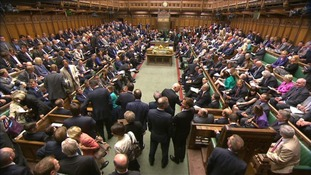 MPs gather in the House of Commons.