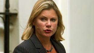 International Development Secretary Justine Greening.