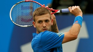 British player Dan Evans is through to the third round of the US Open.